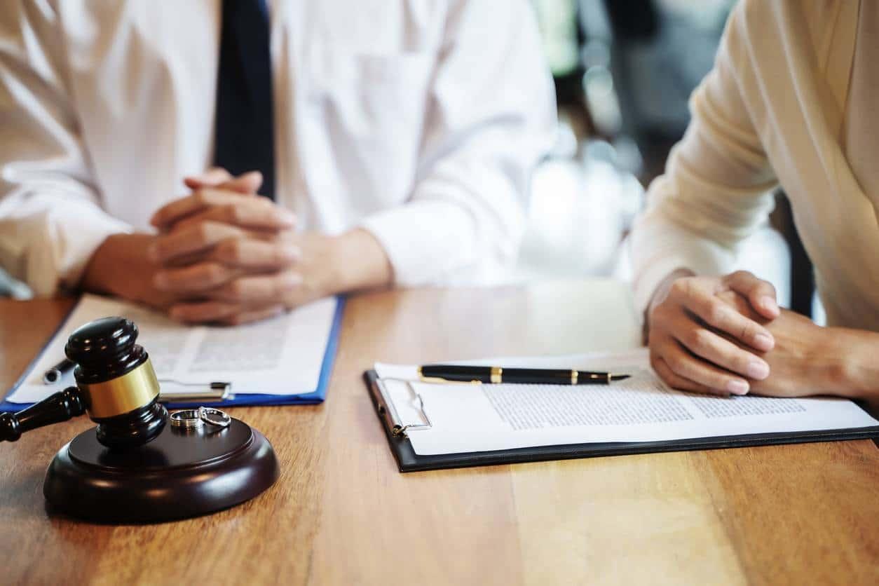 Divorce amiable avocat