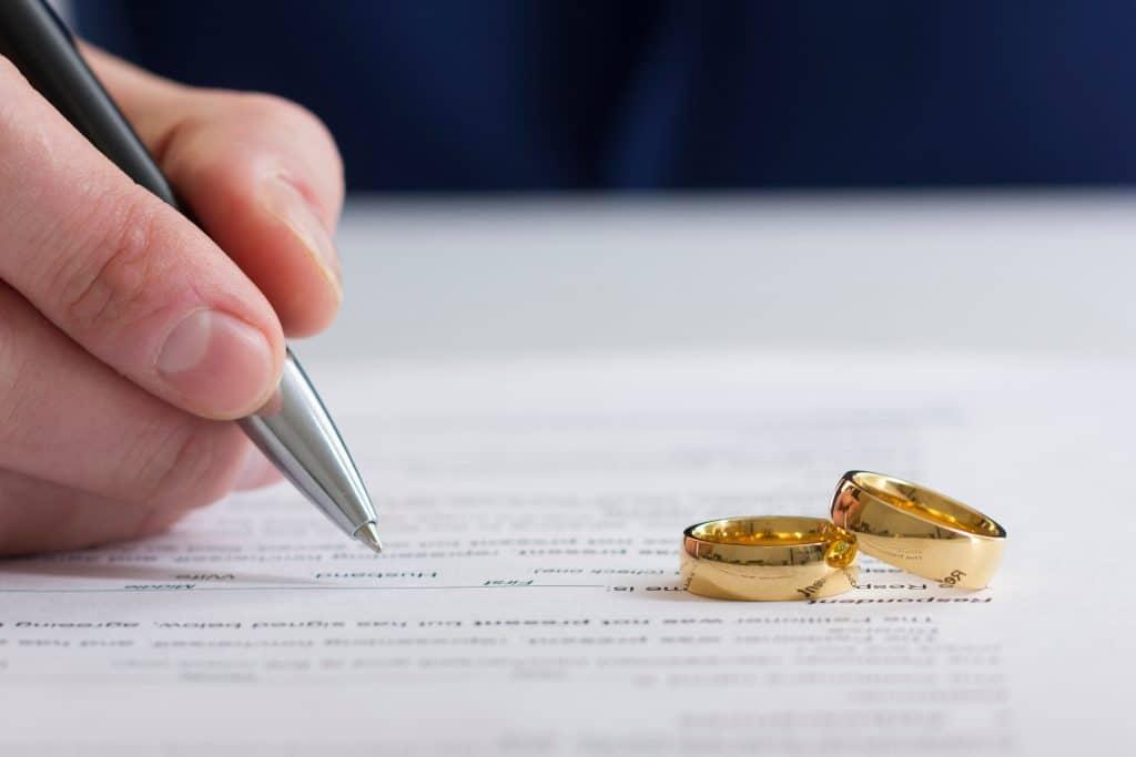 Divorce sur acceptation du principe de la rupture du mariage